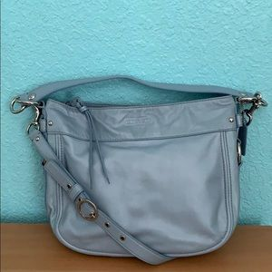 COACH (new w/out tags) baby blue shoulder bag